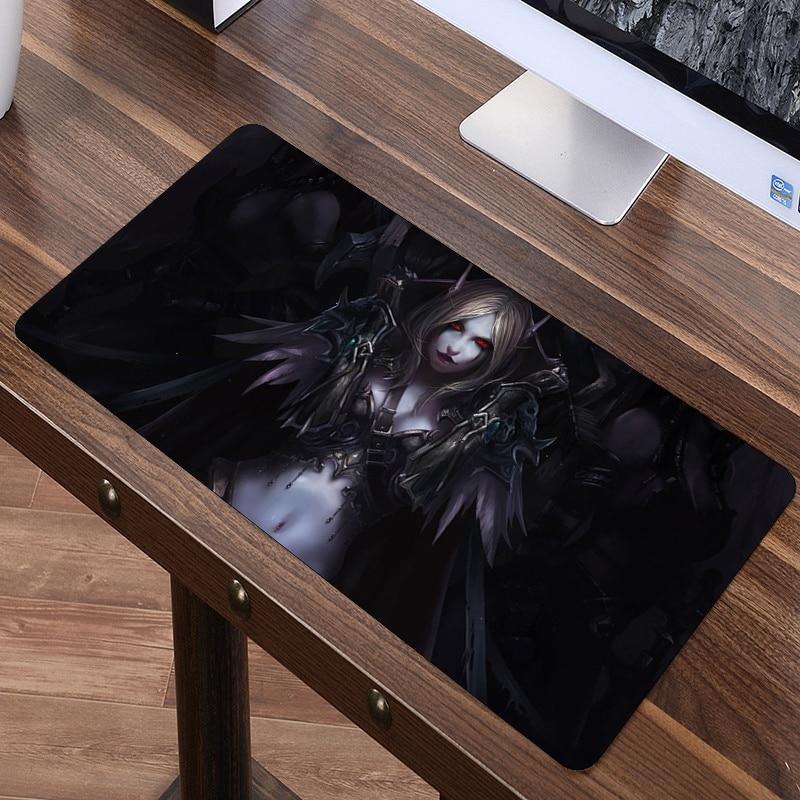 SIANCS 80x40 cm XL mundo de Warcraft Gaming Mouse pad grande moda WOW Mousepad para Speed Gamer ordenador portátil cuaderno de goma mat