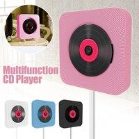 Bluetooth настенный CD плеер Портативный HiFi домашний аудио бокс с пультом дистанционного управления fm-радио динамик MP3