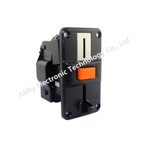 Plastic Panel Advanced Front Entry CPU Selector Coin Acceptor For Vending Machines