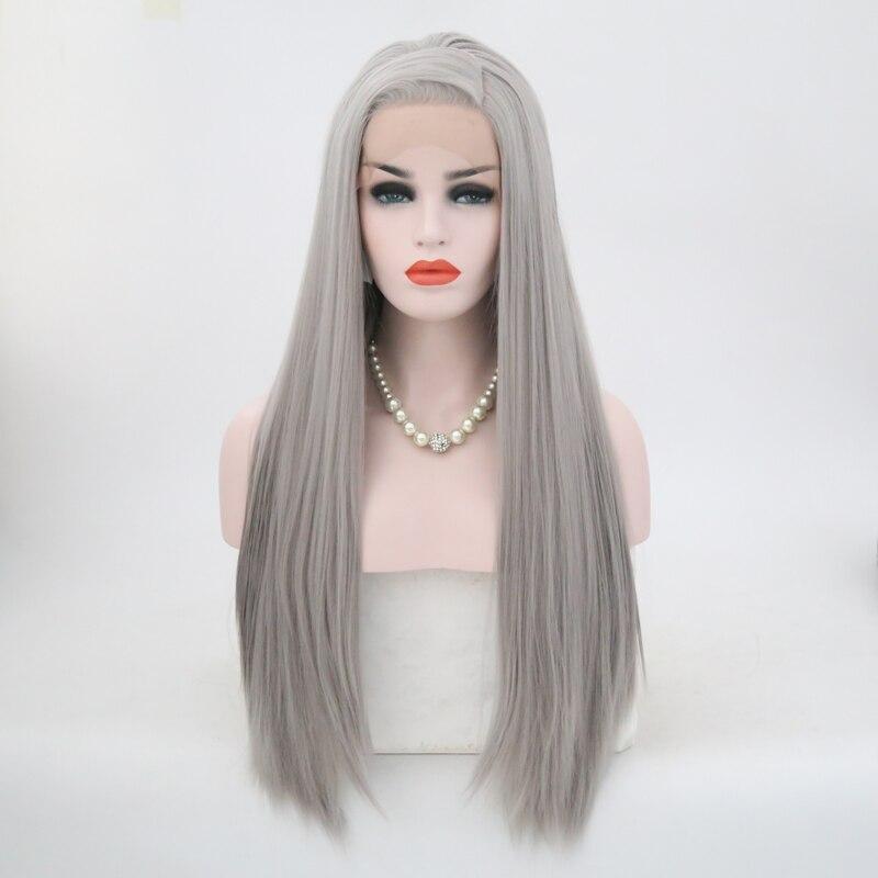 Carisma cabelo de alta temperatura peruca dianteira