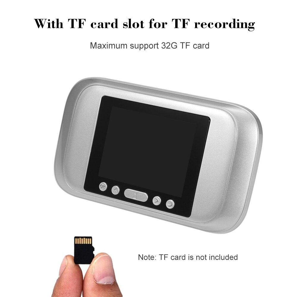 """Умный цифровой дверной глазок 3,"""" TFT lcd монитор дверной глазок дверной звонок HD 1.0MP цветная камера ночного видения для домашней безопасности"""