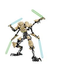 KSZ Star Wars Darth Vader White Storm Trooper  Grievous Figure Toys Building Blocks Compatible цена