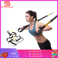 Suspension Trainer Kit Resistance Band Hanging belt Home Gyms Training Straps Exercise Integrated Workout Bodybuilding Pull rope