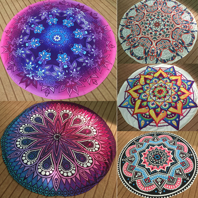 Bohemian Tapestry Wall Hanging aliexpress : buy round mandala indian tapestry wall hanging