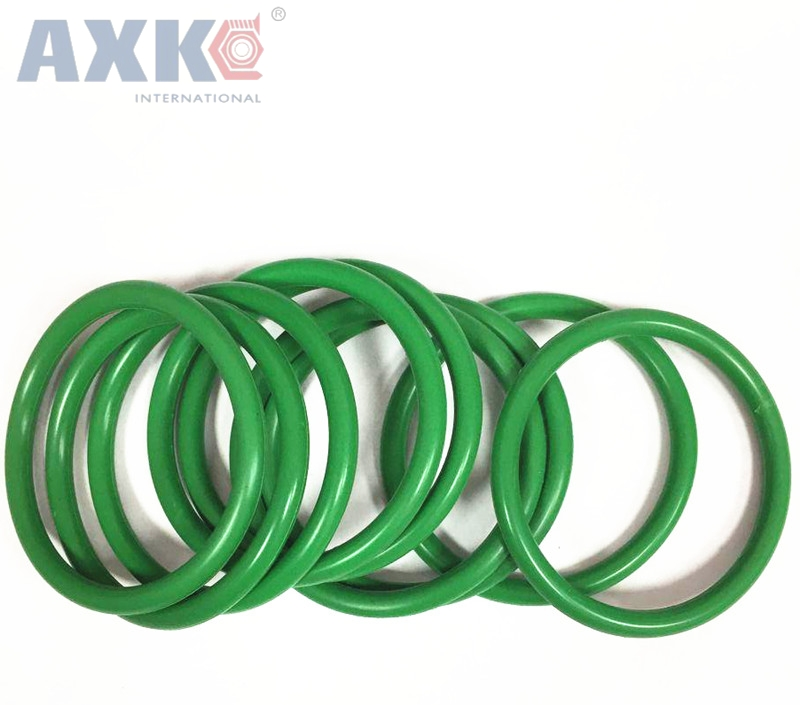 AXK 2pcs 5.7mm Thickness Viton O Ring Sealing Gasket 180/185/190/195/200/205/210/215/220/225mm OD O-Ring Seals Assortment b546 o to 220