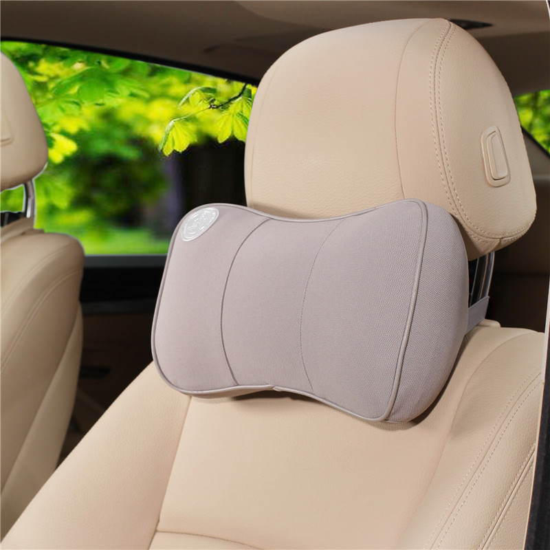 7 colors car headrest memory foam fabric phone vehicular pillow soft safety universal car neck. Black Bedroom Furniture Sets. Home Design Ideas