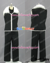 Fullmetal Alchemist Cosplay Greed Black Uniform Costume H008
