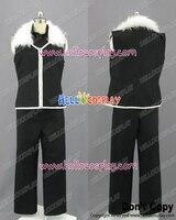 Fullmetal Alchemist Cosplay Chciwość Czarny Uniform Costume H008