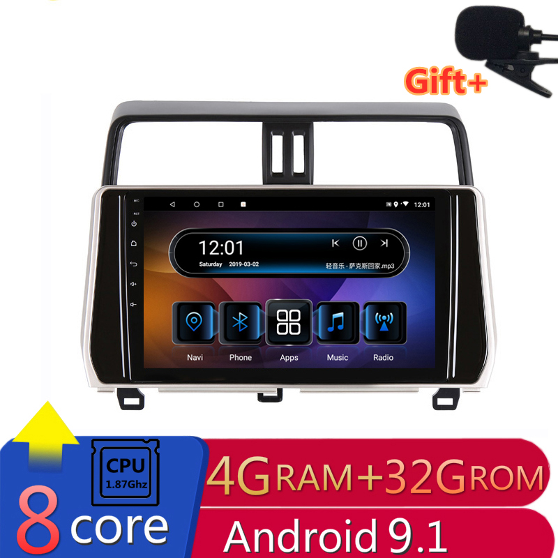 10 4G RAM 2 5D IPS 8 Core Android 9 1 Car DVD Multimedia Player GPS
