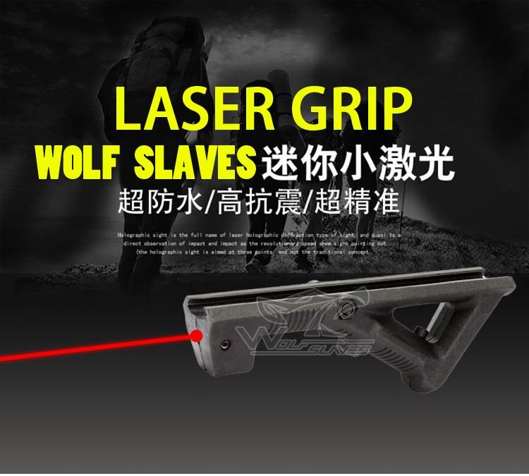 Wolfslaves Pistolet À Eau AFG Réglable Pointeur Laser Grip Pistolet Jouet Accessoires pour Nerf Gun Grip