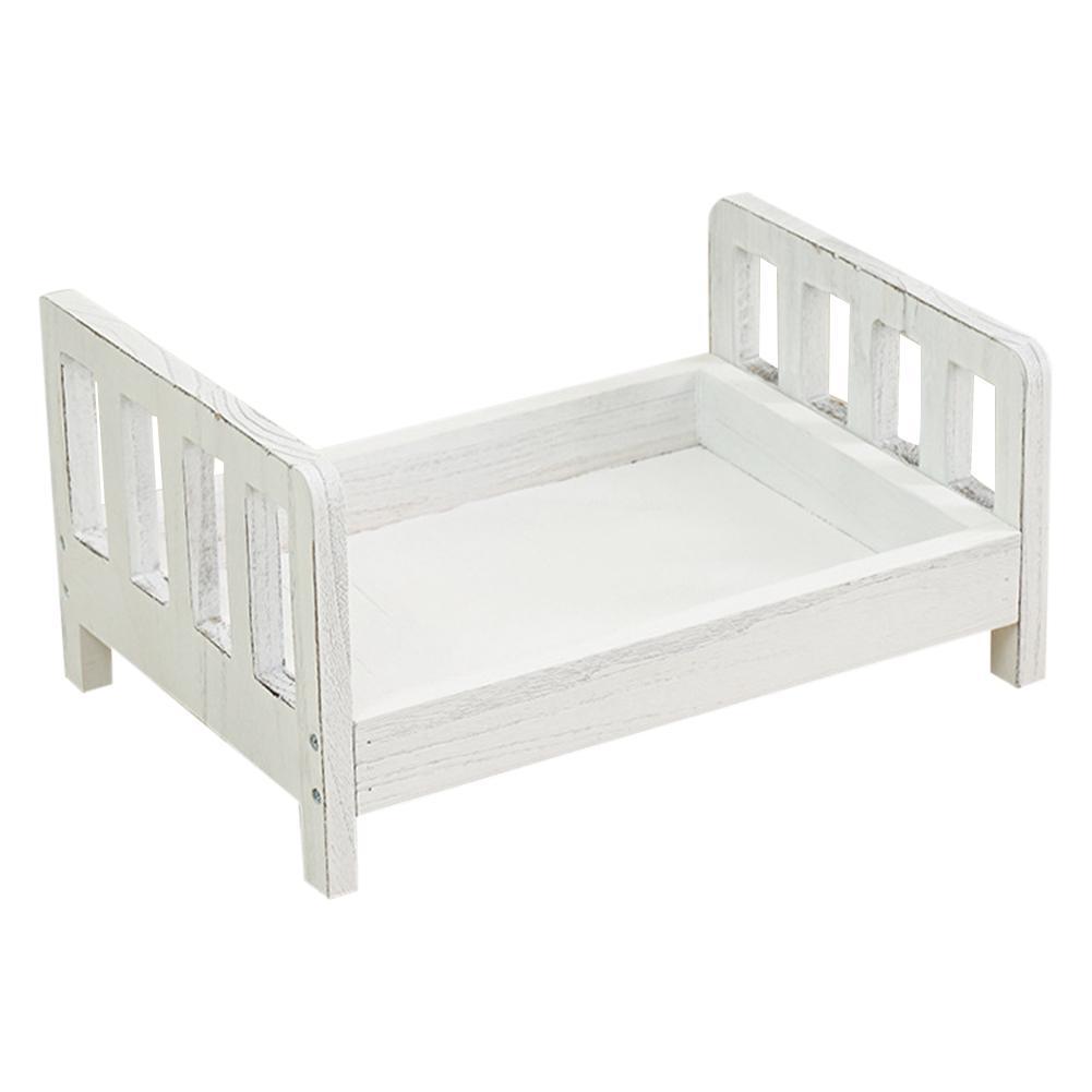 Bébé Photo petit lit en bois nouveau-né accessoires lit posant bébé photographie accessoires Photo Studio berceau accessoires pour Photo Shoot posant canapé