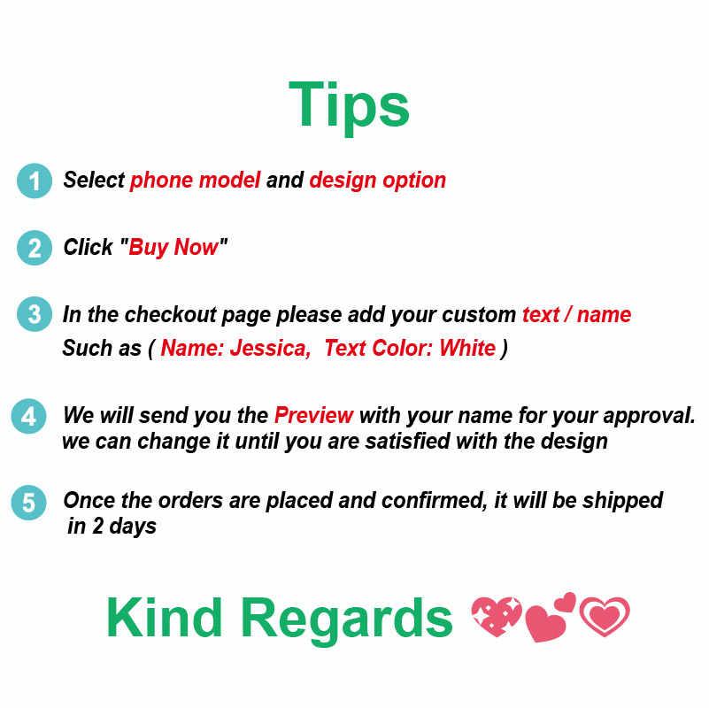 Персонализированные пользовательские имя текст Цветочный Мягкий Прозрачный чехол для телефона для iPhone 11 Pro 6S XS Max 7 7Plus 8 8Plus X XR