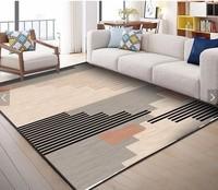 Home Carpet Rugs Soft Child Carpet Flower Printed Coffee Table Floor Rug Living Room Carpet Non slip Mats Bedroom