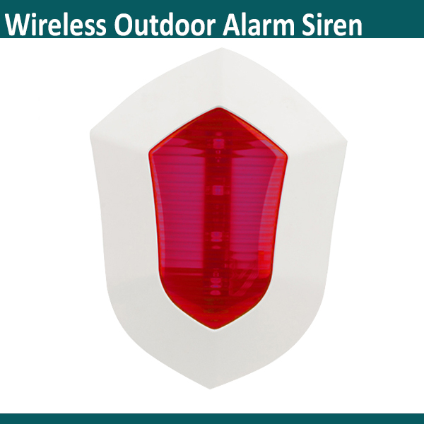 G90b Plus Compatible Red Blue Two Colors Alarming Speaker 110db Flash Sound Outdoor Siren In Alarm From Security Protection On