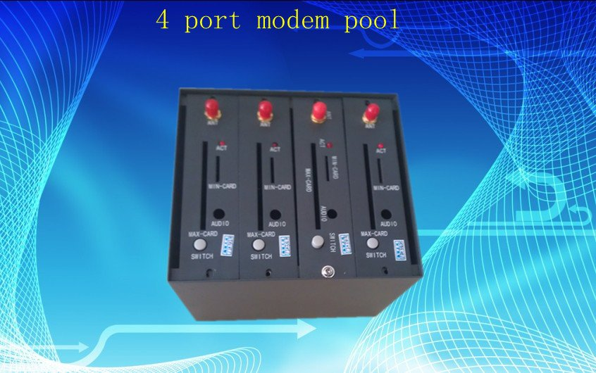 4 port modem pool with Q2403