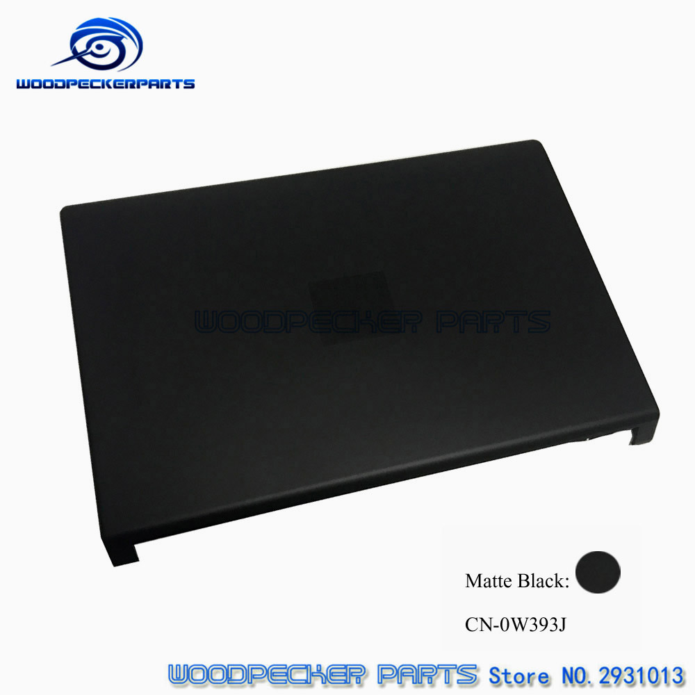 Laptop New original Bright Black Red Blue Gray For Dell For Studio 1555 1557 1558 Lcd Top Cover CN-W393J 7DCV3 DHDP5 7CP9G 8YJ6X new and orginal english us black with backlit laptop keyboard for dell studio 15 1555 1557 1558
