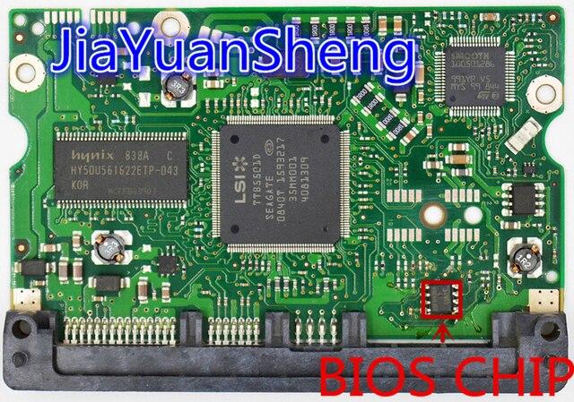 HDD PCB JINREY Logic Board / PCB 100466725 REV A DLAJ 4 / 100468974 ...