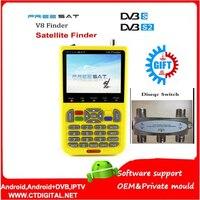 Freesat V8 Finder 2pcs DVB S2 Vs Satlink 6906 Satellite Finder Support 1080P HD Freesat Finder