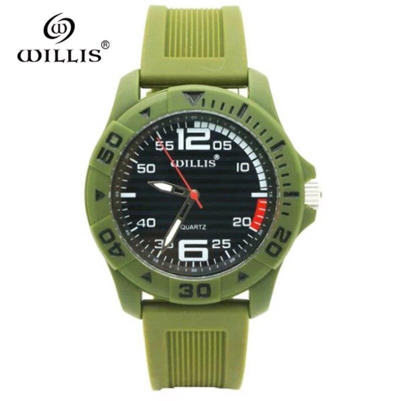 WILLIS Fashion Women Casual Waterproof Watches Quartz Brand Watches Sports Leisure patterns Plastic Simple Wristwatch PENGNATATE