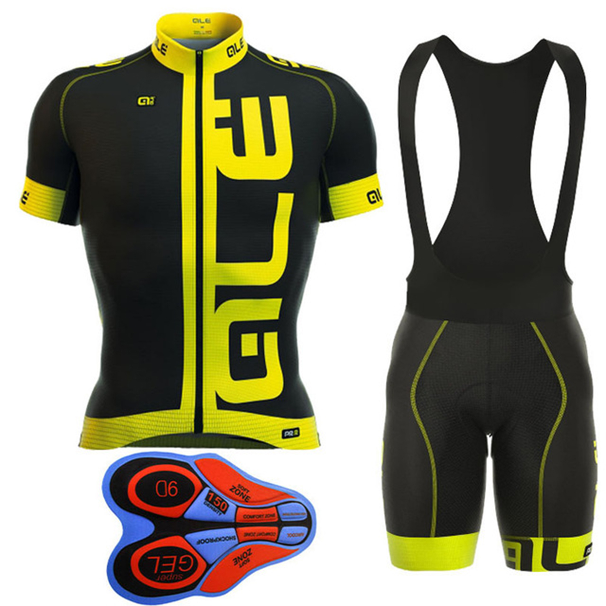 2017 ALE All Style Team Cycling Jersey Set Ciclismo Ropa ciclismo Bike Clothes Suit Bicycle MTB Racing Clothing Quick Dry teleyi bike team racing cycling jersey spring long sleeve cycling clothing ropa ciclismo breathable bicycle clothes bike jersey