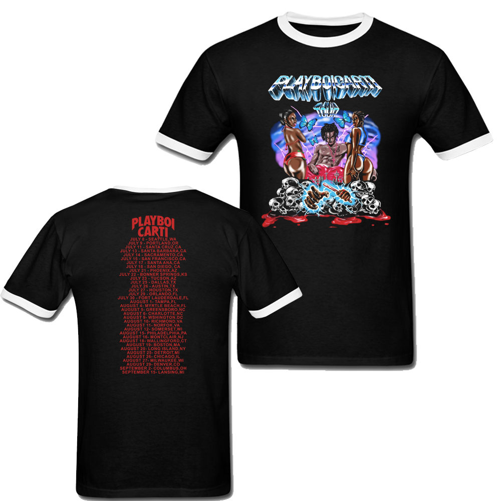 1dd433f0638d Playboi Carti Tour Magnolia Rap Tee Hip Hop T Shirt Men And Women Size Xxxl-