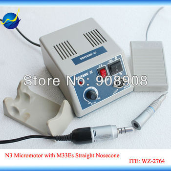 100-120 V/200-240 V Straight Nosecone Head M33Es E-type Motor SHIYANG-III Micromotor Mini 35000 RPM