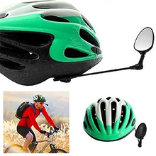 360 Degree Bike Mirror Rotatable Sunglasses Rearview Mirror Bicycle Riding Cycling Bike Helmet Mirror Men, women and children