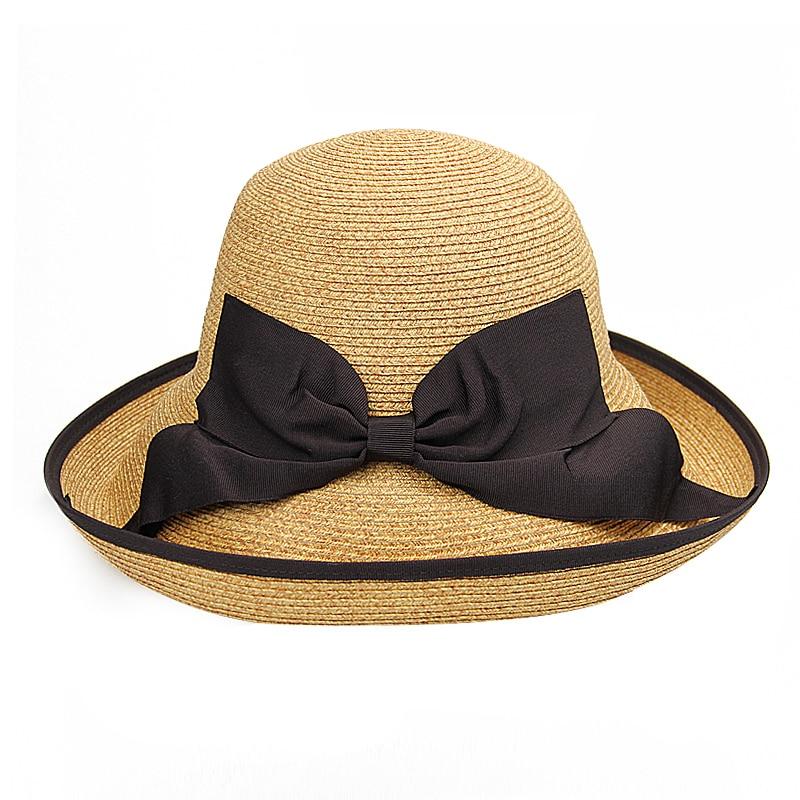 Yeni Gəlmə Moda Günəş Şapkaları Qadın Tətili Yay Çimərliyi - Geyim aksesuarları - Fotoqrafiya 6