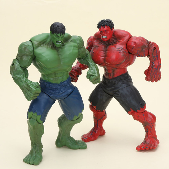 Hulk, Incredible Hulk Movies action figures - Go Figure Action Figures