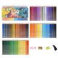 Prismacolor 150 Solúvel Em Água Conjunto de Lápis Coloridos Lápis Lápis De Cor de Madeira Para Desenho Pintura Aquarela Material Escolar Arte