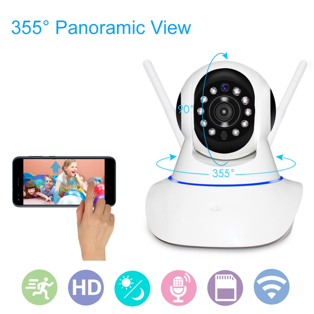 Full HD 1080P WiFi IP Camera Home CCTV Surveillance Camera IR Night Vision Baby Monitor Support