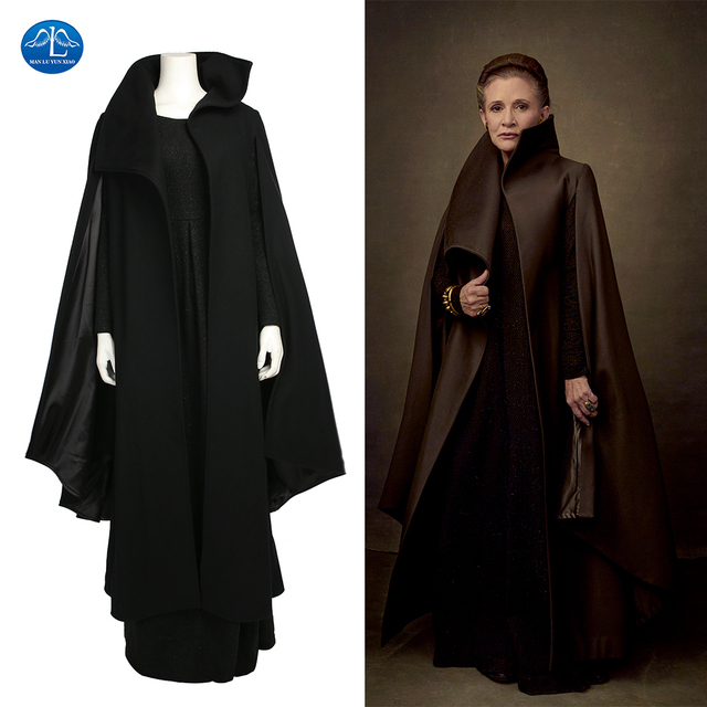 Star Wars Cosplay Costume Women Princess Leia Cosplay Costume Deluxe