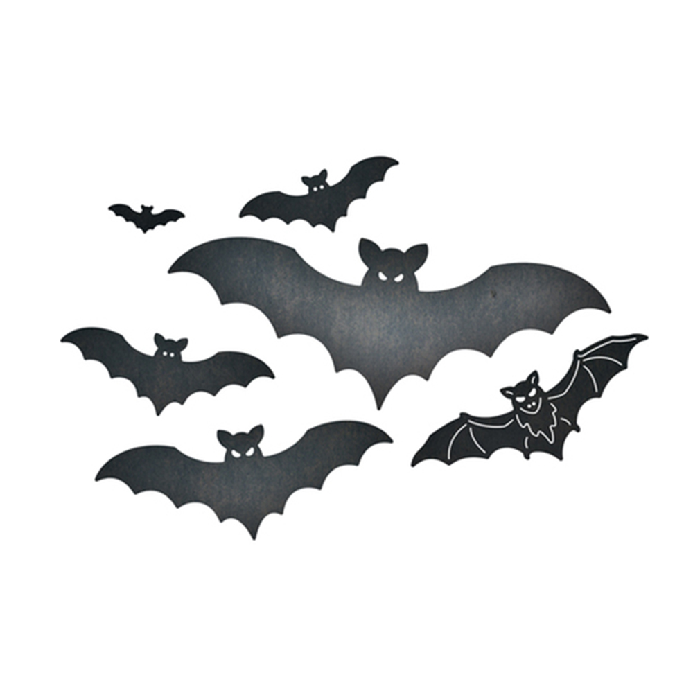 HamyHo 2018 New Halloween Border Bat Metal Cutting Dies Stencil for DIY Scrapbooking Album Paper Cards Crafts Embossing dies