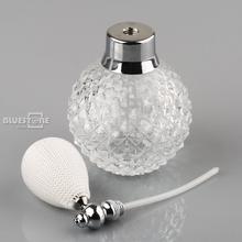 100ml White Vintage Crystal Perfume Bottle Spray Atomizer Glass Bottle Lady Gift