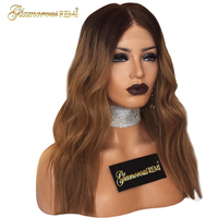 Peruvian Body wave Human Virgin Hair lace front wigs with baby hair Pre Plucked Hairline 8 26 inch Ombre 1b 30 Glueless Wigs
