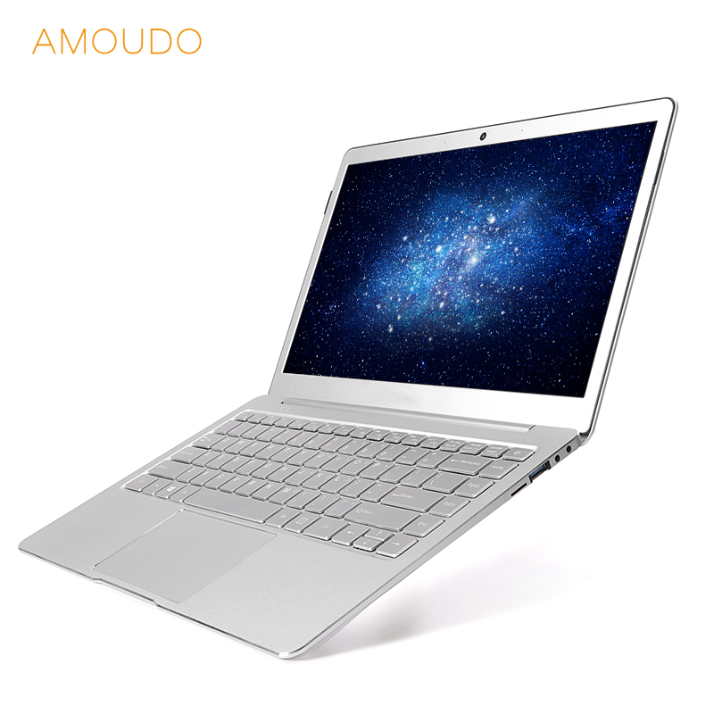14inch Ultrathin All Metal Laptop Intel Quad Core CPU 6GB RAM Windows 10 Pro 1920*1080P Full HD Ultrabook Notebook Computer