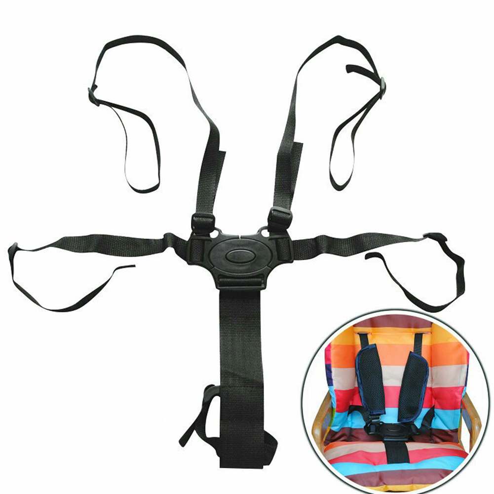 5 Point Safety Strap Seat Belt Baby Universal Harness Stroller Pushchair Buggy High Chair Child Adjustable Infant Newborns Baby