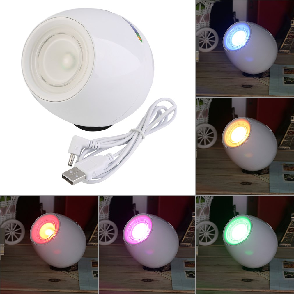 Brand New Rechargeable Digital 256 Colors Living Color LED Mood Lighting Night Light Table Lamp Touchscreen