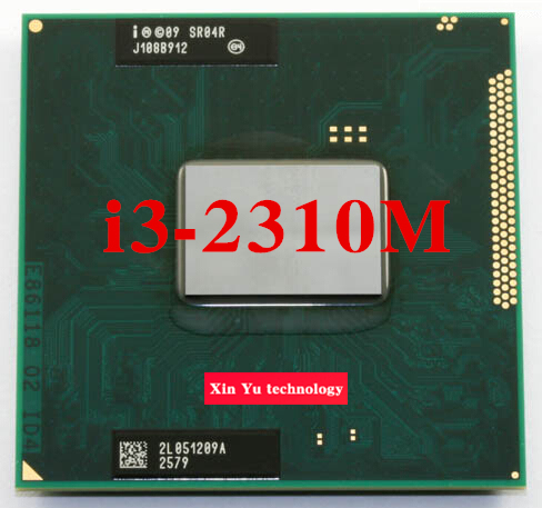 Lifetime warranty Core i3 2310M 2.1GHz SR04R 2310 Notebook processors Laptop CPU PGA 988 Official version  Computer Original
