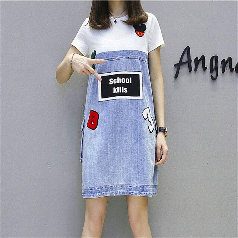 Платье из денима | Aliexpress