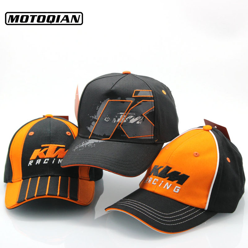 Men Women High Quality Snapback Motorcycle Trucker Hats Motor Racing Cap F1 Moto GP Logo For KTM Baseball Cap Embroidery Hat which in shower embroidered dropout bear dad hat women men cartoon rapper strapback snapback baseball cap hip hop trucker bone