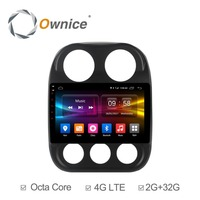 Ownice C500+ G10 10.1 Octa Core Android 8.1 CAR Auto Navi Radio GPS player For Jeep Compass 2010 2016 Support DVD 4G DAB+ DVR