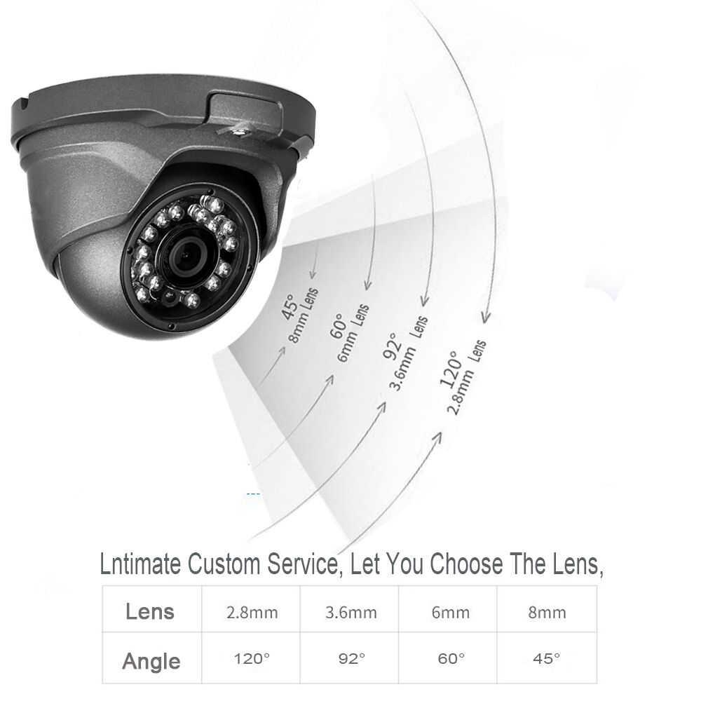 Kingkonghome poe IP камера 4mp аудио камера безопасности 1080 p открытый металлический CCTV Микрофон наблюдения крытый купол ip Кэм ONVIF