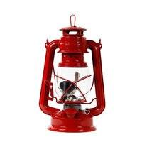 Mediterranean Style Lantern Creative Hand Held Storm Lantern Kerosene Lamp Wrought Iron Candle Holders Outdoor Headlight