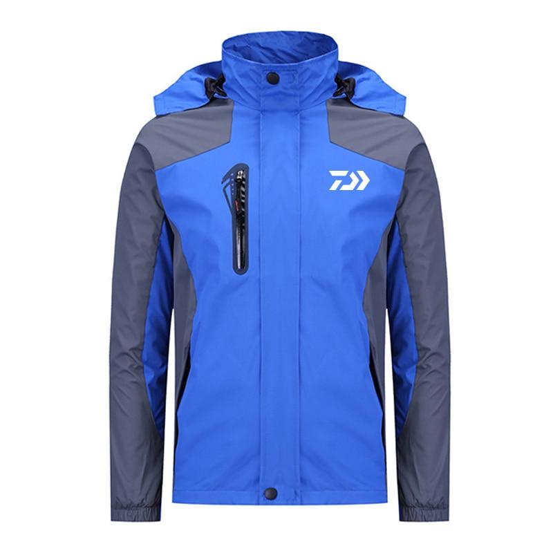 All Sizes NEW FOR 2018 Daiwa NEW Softshell Fishing Jacket BLUE // BLACK