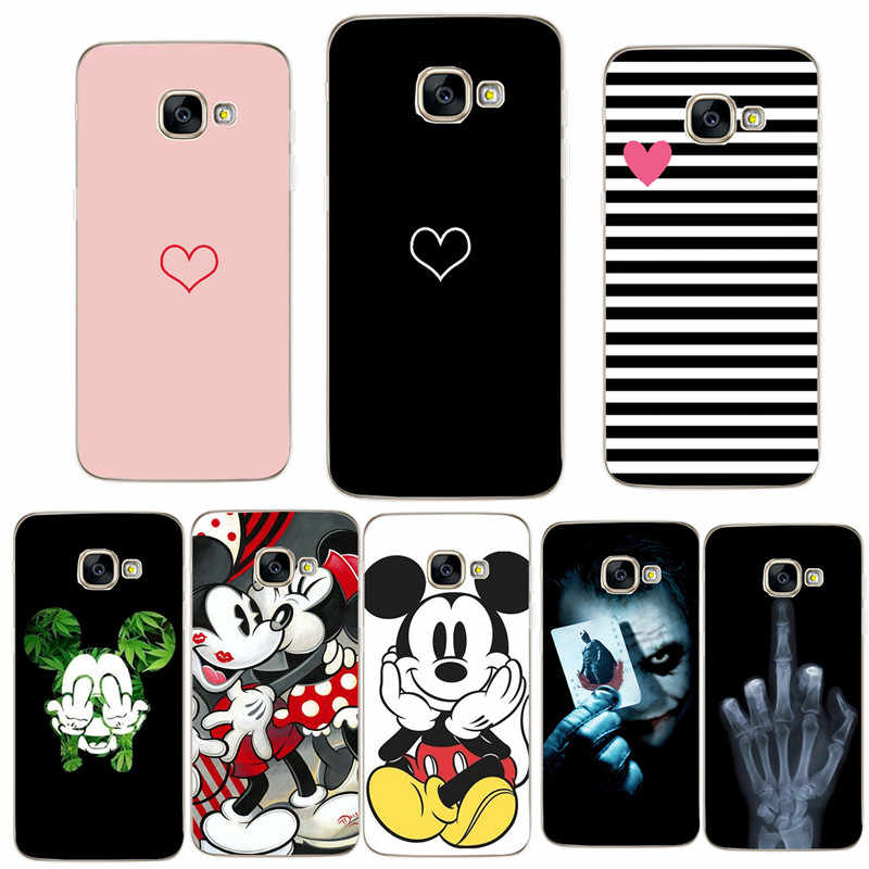 For Samsung S8 Case Soft Silicone Phone Case for Samsung Galaxy A3 A5 A7 J5 2017 J530 S8 S9 A8 Plus 2018 Fundas Capinha