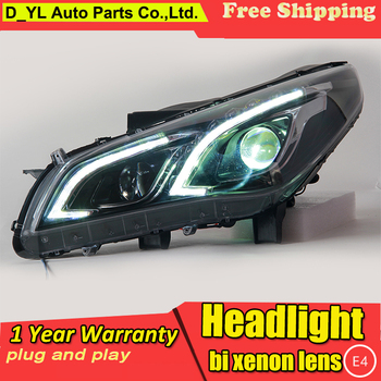 Car Styling LED Head Lamp for Hyundai Sonata 9th headlights 2015 Sonata 9 led headlight led drl H7 hid Q5 Bi-Xenon Lens low beam