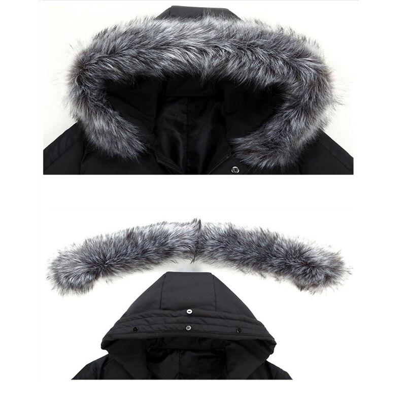Homme Et Streetwear Fourrure vent Manteaux Taille Pour Hommes marine C1628 Capuchon Chaud Coupe L'hiver gris Plus La De À Vestes Long Casual Noir Épais Bleu Parkas Veste xRqzwqI1T