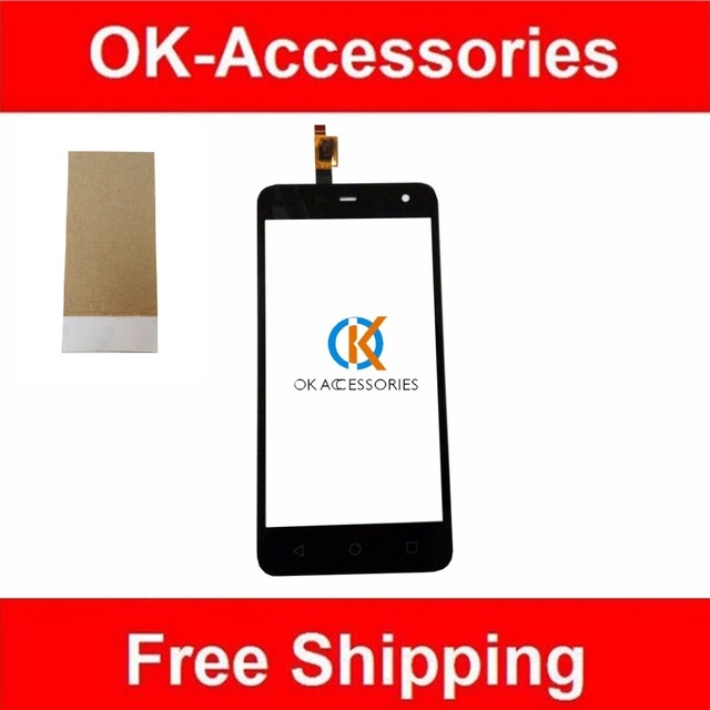 5 Inches High Quality For ZTE Blade L4 pro A475 T610 Touch Screen Digitizer Screen+ Tape Black White Color 1PC /Lot