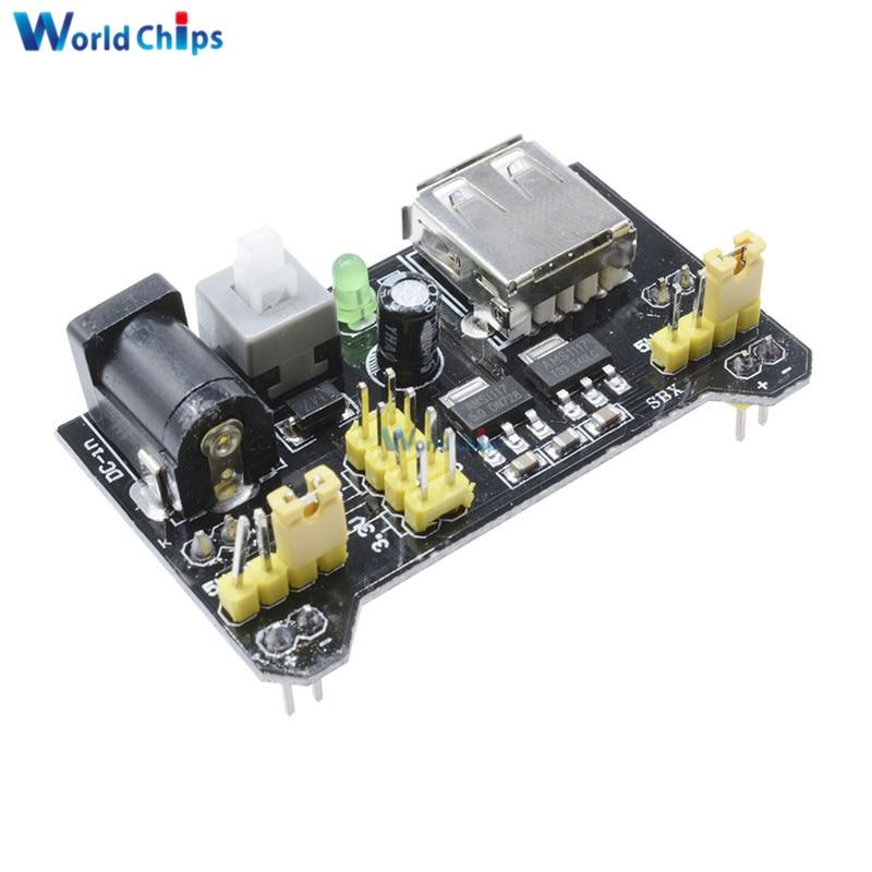Mb breadboard power supply module v for arduino